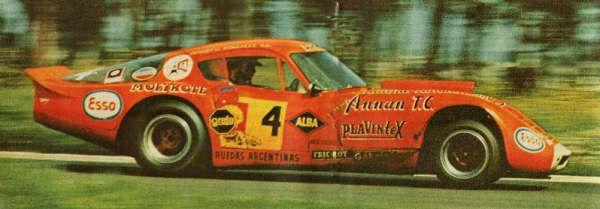 Trueno Naranja - Prototipo Chevrolet - constructor Horacio Steven Piloto Carlos Pairetti