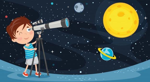 Evden Uzay Bilimi: Çocuklar ve Yetişkinler İçin Kaynaklar…