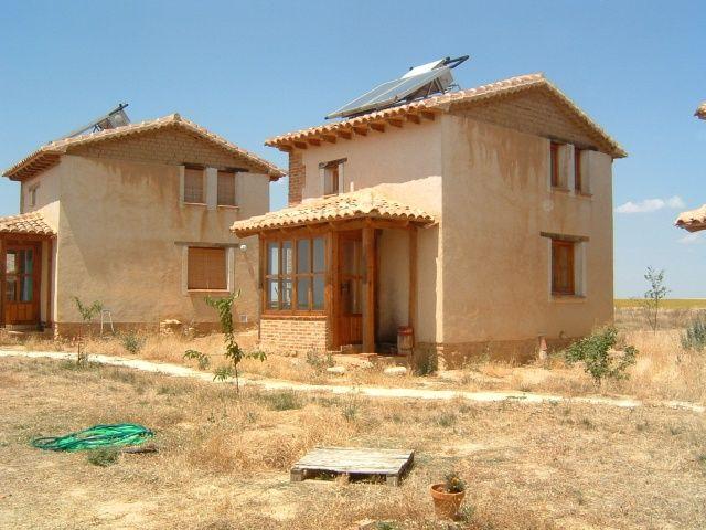 Casas de Adobe ó Barro | SoloPlanos.com