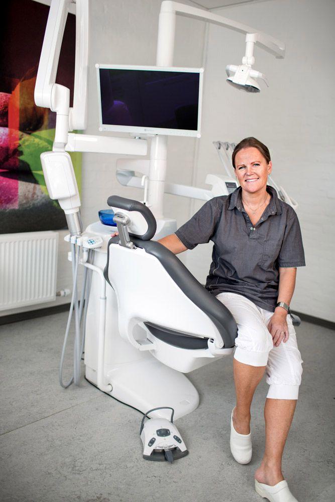 Erhvervsfoto ved Tandlæge