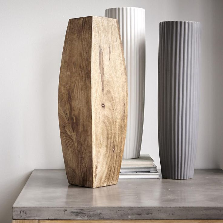 Mango Wood Floor Vase | Bouclair.com