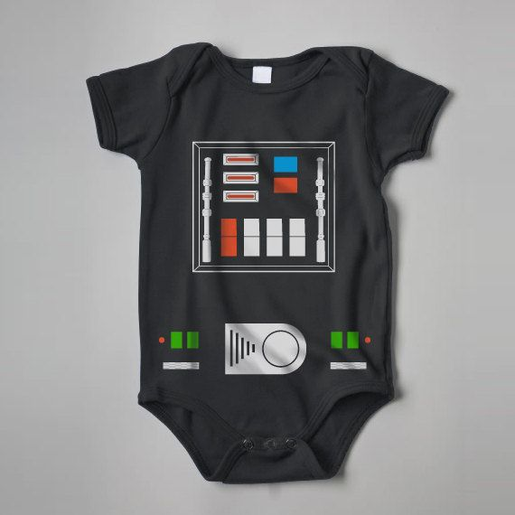 Hey, I found this really awesome Etsy listing at https://www.etsy.com/listing/130429531/cute-side-of-the-force-darth-vader-baby