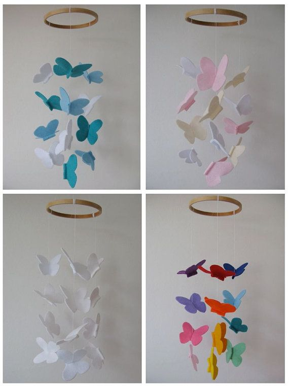 I could make something like this with butterflies that Ashlyn makes.