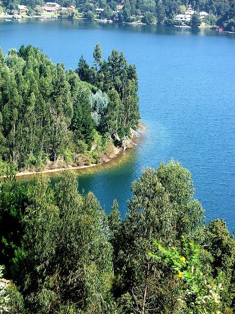 """laguna chica de San Pedro"".,  Concepcion - Chile by tonialon, via Flickr"