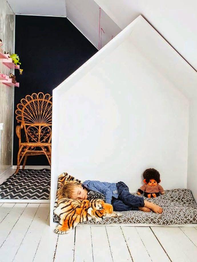 Kształt 'domku' w architekturze od mikro do makro skali