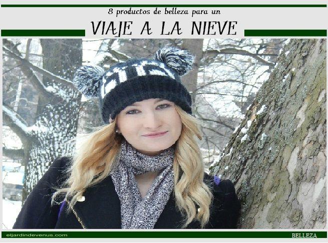 8 productos de belleza para un viaje a la nieve http://www.eljardindevenus.com/salud-y-belleza/belleza/8-productos-de-belleza-para-un-viaje-a-la-nieve/