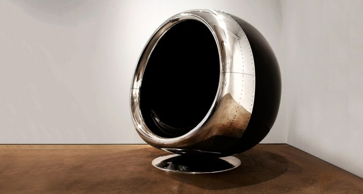 Apply reverse thrust with Fallen Furniture's 737 engine chair | Classic Driver Magazine