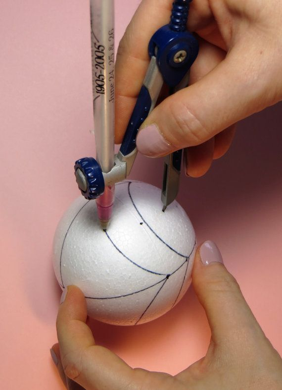 Learn to make this beautiful kimekomi (cut and tuck) ornament in this instant download tutorial. This tutorial includes 3 PDF files with detailed step-by-step instructions and over 80 close up photos. This design can easily be adjusted to any size ball. A complete list of tools and materials you will need, including size and amount recommendations, are listed in the tutorial. Here is a short list of the main tools and materials you will need.  tucking tool glue stick measure tape foam ball…