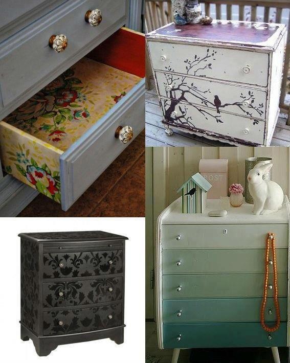 Muebles viejos reciclados forniture pinterest dressers - Muebles viejos reciclados ...