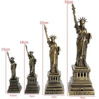 Wish   Hot Famous  New York Symbol Liberty Statue Figurine Figure Shelf Decor Gift Crafts