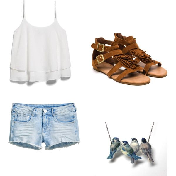 little bird told me  by wolfie112-99 on Polyvore featuring polyvore fashion style MANGO H&M