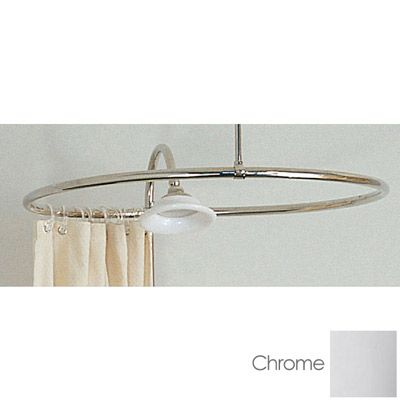 SUNRISE SPECIALTY 32  Circular Shower Ring   Clawfoot Tub Shower Ring45 best Clawfoot tub shower images on Pinterest   Clawfoot tub  . Shower Curtain Ring For Clawfoot Tub. Home Design Ideas