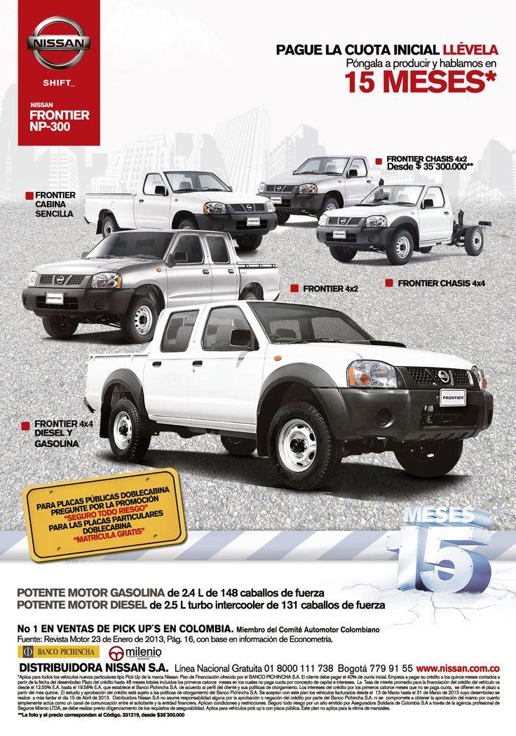 Excelente precio Nissan Frontier NP-300: Campaña realizada para Nissan