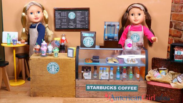 DIY American Girl Doll Starbucks Cafe Printables We have made several Starbucks crafts over the years but we have never put together an actual coffee shop! I found cute doll sets from TJ Maxx that included a doll wearing an apron and hat as well as a display case. I really like the set because …