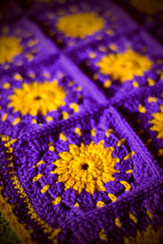Disney-Inspired Tangled Blanket by MadisonDayCrochet on Etsy