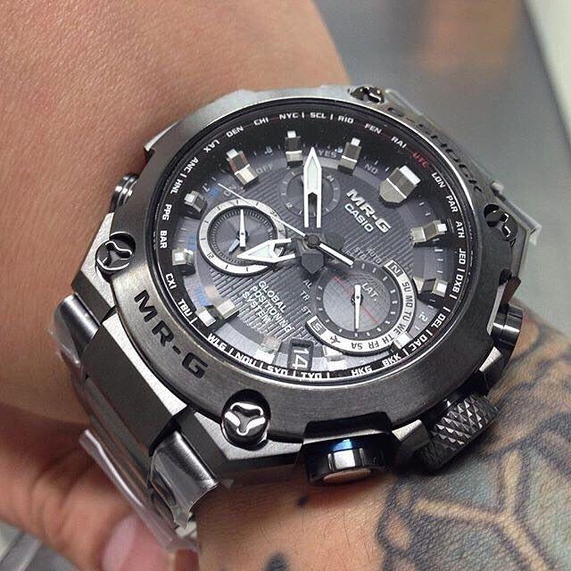 4e58adaa4d60  Live Photos  G-Shock MRG-G1000B-1A – Ultimate Tough Luxury Watch