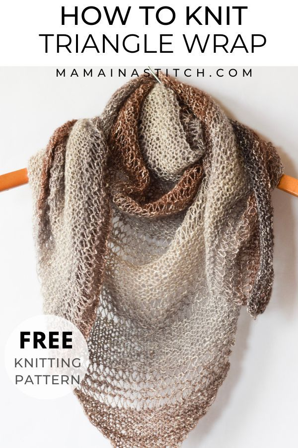 This Simple Knit And Purl Infinity Scarf Is The Perfect