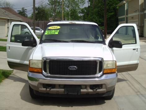 Used Ford Excursion Limited for sale in Texas for only $7995