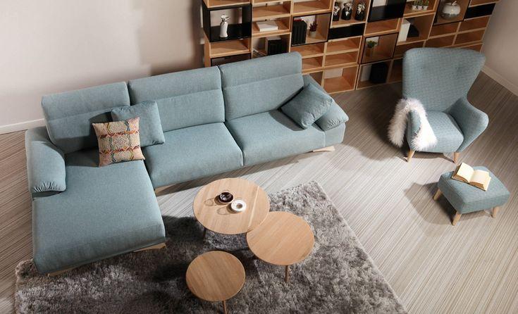 Te presentaos este maravilloso sofá de Frajumar, modelo Cosi... IDEAL!! Super cómodo  y con un diseño ideal. Podemos hacerlo en muchas medidas, y tejidos, descúbrelo en nuestra web! #sofa #frajumar