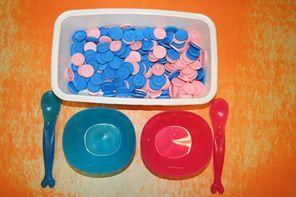 ateliers montessori PS a faire avec plusieurs couleurs