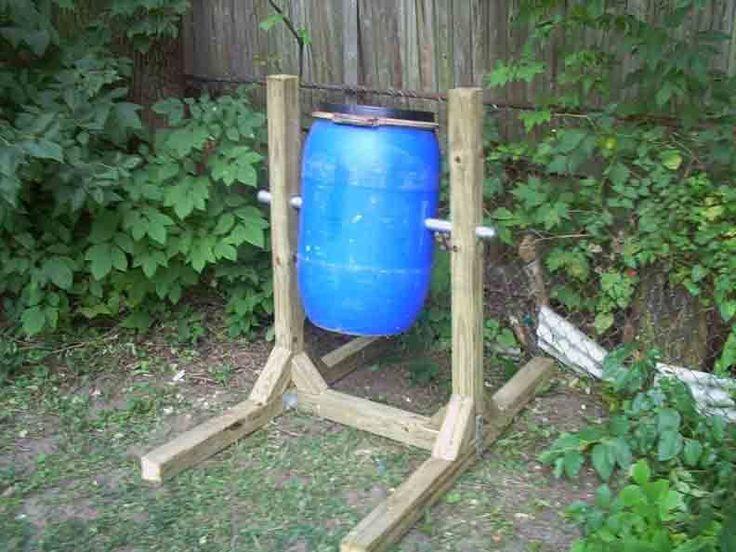 Homemade Compost Tumbler 26