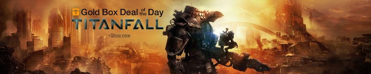 """Save 38% off Titanfall for Xbox One, Xbox 360, and PC Amazon deal of the day for 4/22/2014 only! Today only, save on """"Titanfall"""" for Xbox One, Xbox 360, and PC. Crafted by one of the co-creators of Call of Duty and other key developers behind the Call of Duty franchise, """"Titanfall"""" is an all-new universe juxtaposing small vs. giant, natural vs. industrial and man vs. machine.   $36.99 (38% off)"""