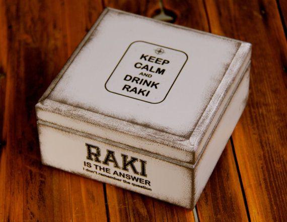 Boite décorative en bois esprit vintage effet par Elo little box Facebook like it : Elo little box