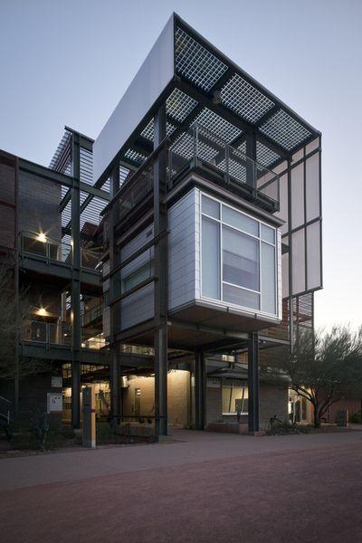 Arizona State University Lake Flato Architects Photo: ken mccown