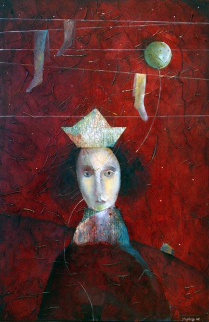 Jewish Girl with a Balloon, 2006