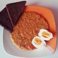 Fotografie receptu: Červená čočka s rajčaty
