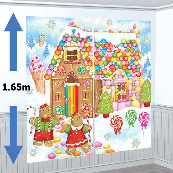Sweet Christmas Scene Setter Kit - 1.65m