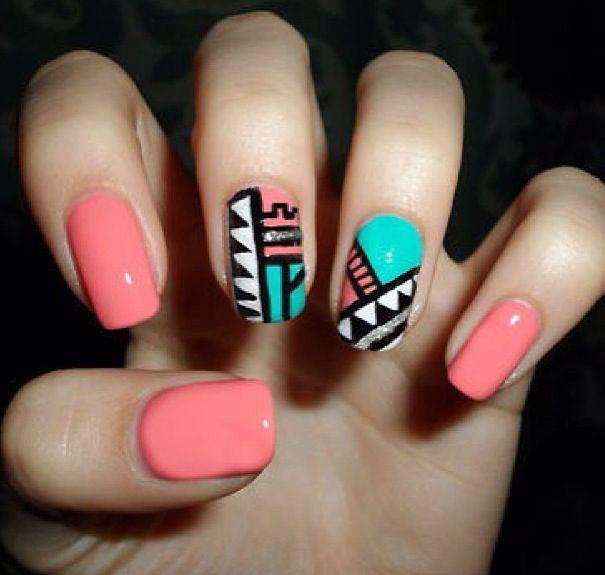 My last nails !!!!