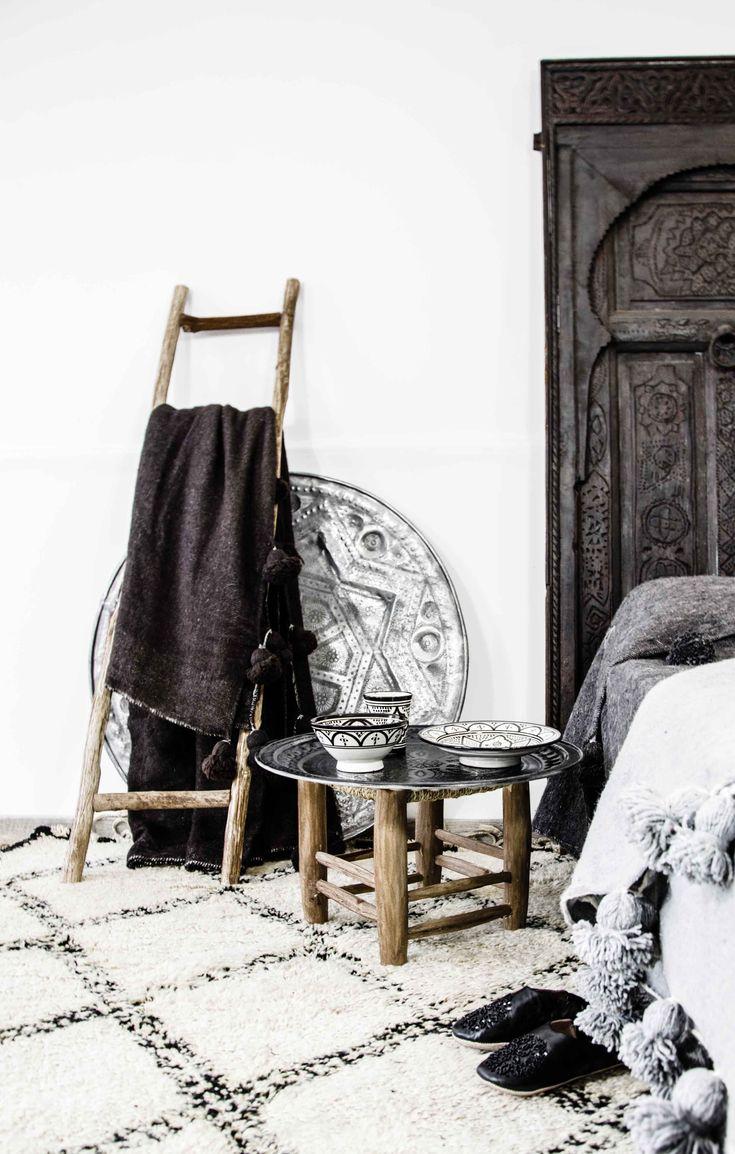 Beni Ouarain - Marokko - vintage berber - moroccan rug - interior www.mycraftwork.com/
