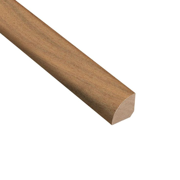 Ember Acacia 3/4 in. Thick x 3/4 in. Wide x 94 in. Length Hardwood Quarter Round Molding, Gray