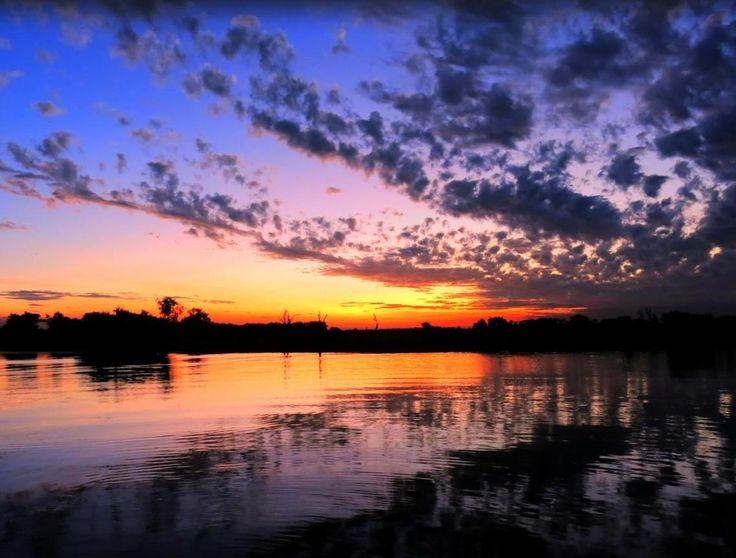 Kakadu National Park, Yellow Waters sunset :)