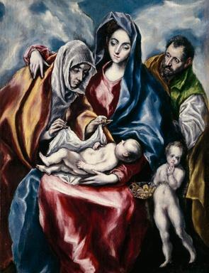 """18.El Greco pensaba que la imitación de color era la dificultad mas grande de arte.  """"I hold the imitation of color to be the greatest difficulty of art."""" — El Greco, from notes of the painter in one of his commentaries."""