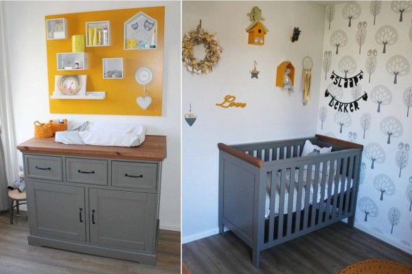 Tijdens het inrichten van de babykamer wisten de ouders van Thijmen nog niet of hun kindje een jongen of een meisje was. Deze foto's laten zien dat een neutrale babykamer zeker niet saai hoeft te zijn. Kijk je mee naar de babykamer van Thijmen met meubels die gekocht zijn bij Babypark?