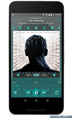 JetAudio HD Music Player Plus v8.1.1 [Mod Material Design]Requirements: 2.3+Overview: jetAudio Plus is a mp3 music player with 10/20 bands graphic equalizer and various sound effects.  — Sound Effects plugins —* Bongiovi DPS ( ...