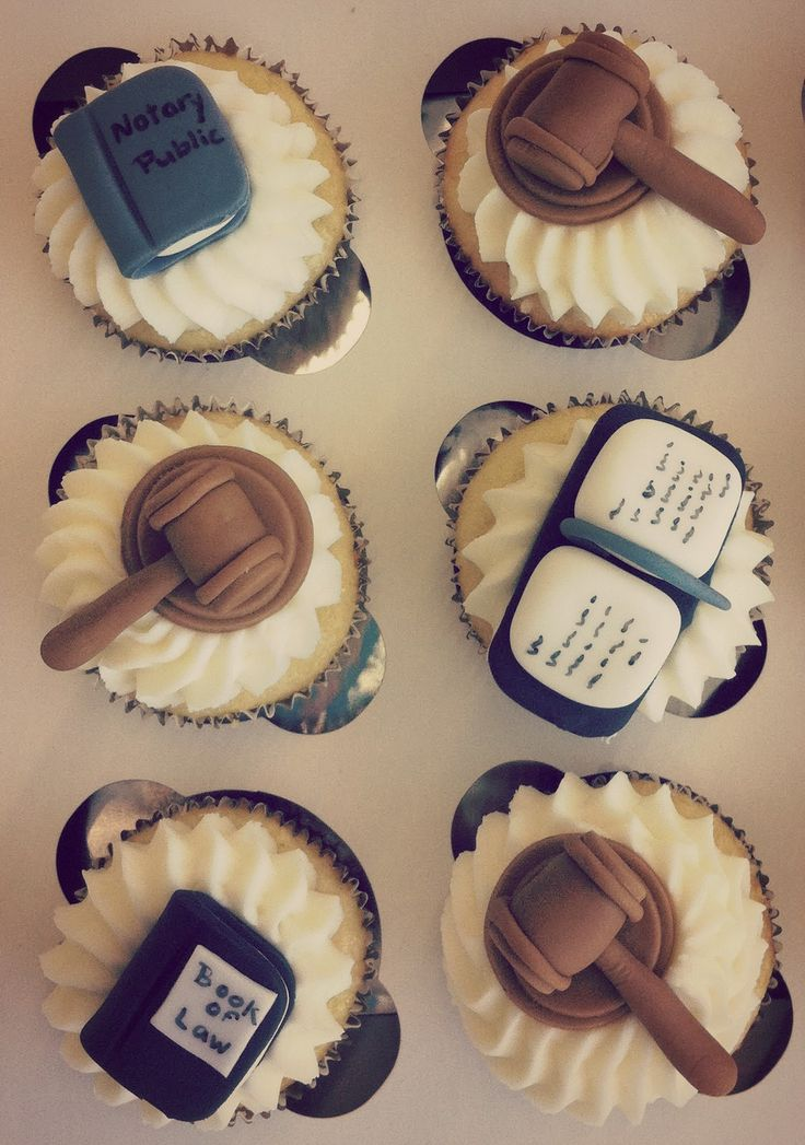 Abogados #Lawyer #Cupcake #Law