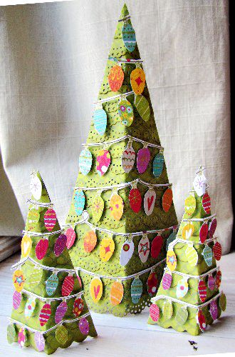 how cute would this be coupled with some homemade goodies as an inexpensive christmas gift - Inexpensive Christmas Trees