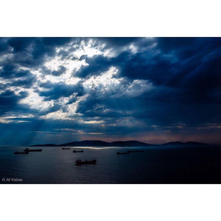 Princess Islands, Istanbul aerial.