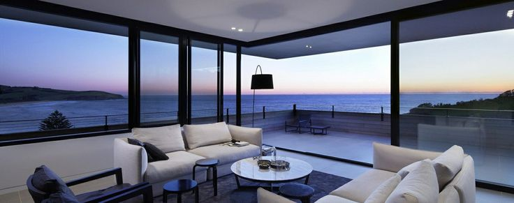 Landscapes-Along The Coast-Beach House-Australia-New South Whales-Ocean Front Living Room