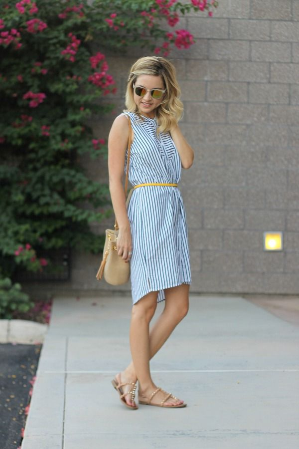 Shirt dress, @oldnavy , style by fashion blogger simply Sutter