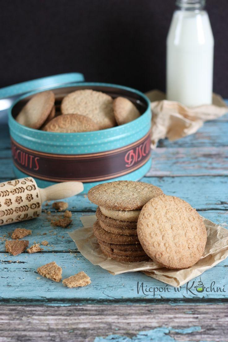 Gluten free cookies, Bezglutenowe ciasteczka wegańskie na mące gryczanej i skrobi ziemniaczanej, bez jajek. Pyszne są, szczególnie z kubkiem gorącej kawy czy herbaty.