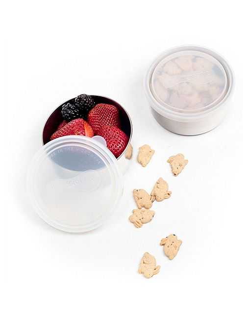 Kids Konserve Set of 2 Replacement Lids for Medium Rounds