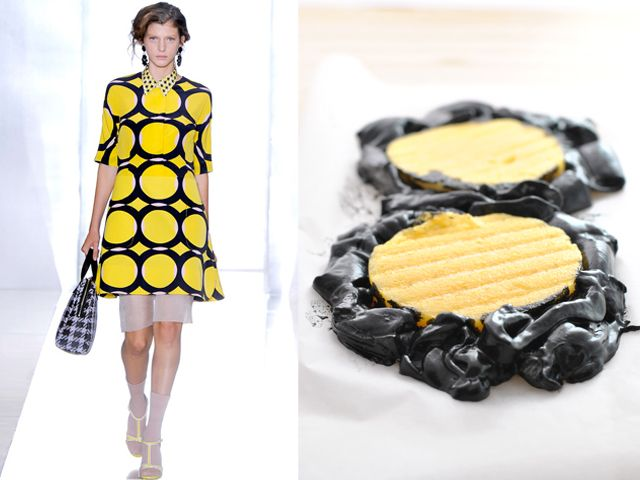 Taste of Runway //  Fashion + Food  LOVE this concept--such a cool site!