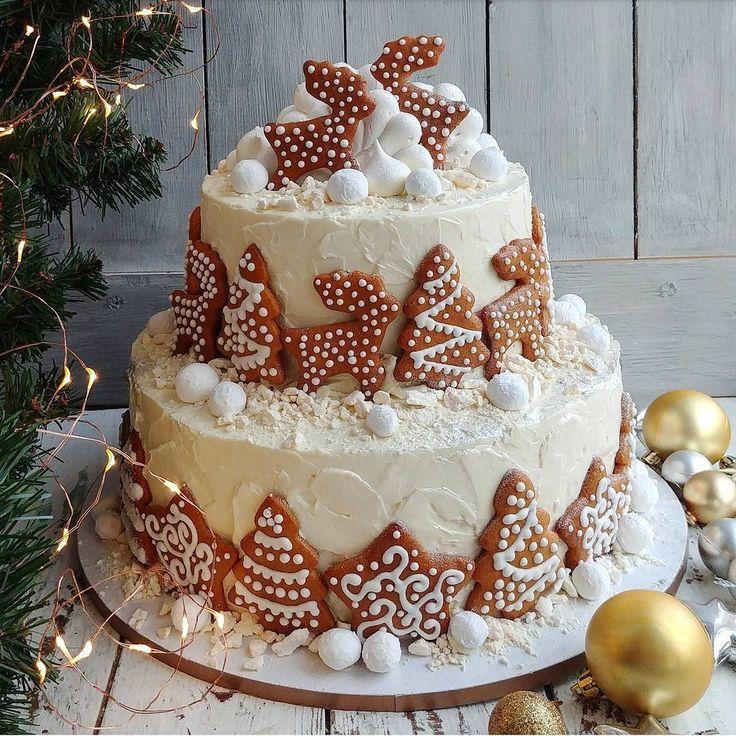 998 отметок «Нравится», 13 комментариев — 🍰 ДОМАШНИЕ торты и 🍭пирожные (@marisha_with_love) в Instagram: «Сказочный торт с медовыми пряничками желает всем хорошего дня🎉🎉🎉»