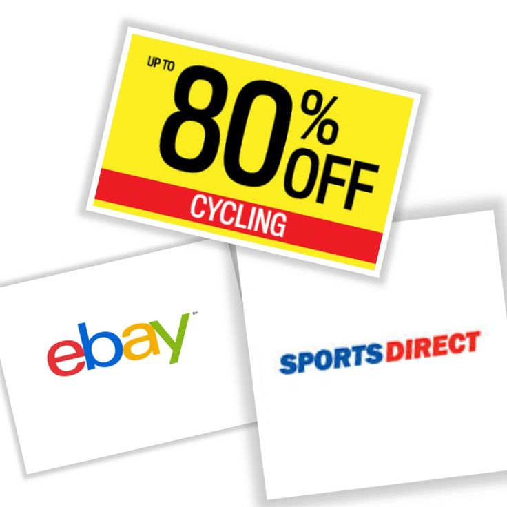 Save up to 80%!Find the Latest Cycling Offers in the Sports Direct eBay Shop Sale ebay.to/2Eh4tYn