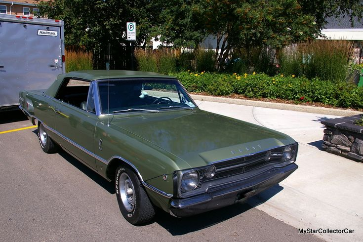 He did a ground up restoration in record time and now he drives the wheels off it. It's a perfect ending--here's the exclusive MSCC story: http://mystarcollectorcar.com/february-2018-a-1968-dodge-d…/ #68DartGTconvertible