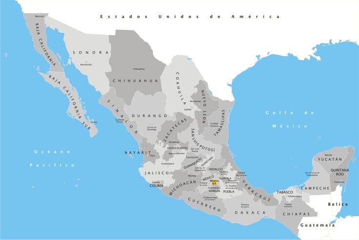 Mapa De Mexico 2009 - Organización territorial de México - Wikipedia, la…